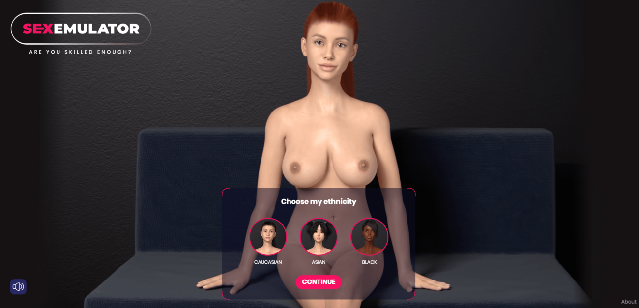 Sex Emulator - Choose Your Ethnicity