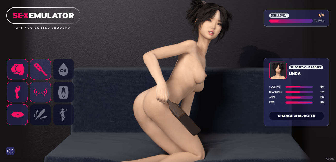 Sex Emulator - Linda Sex Doll