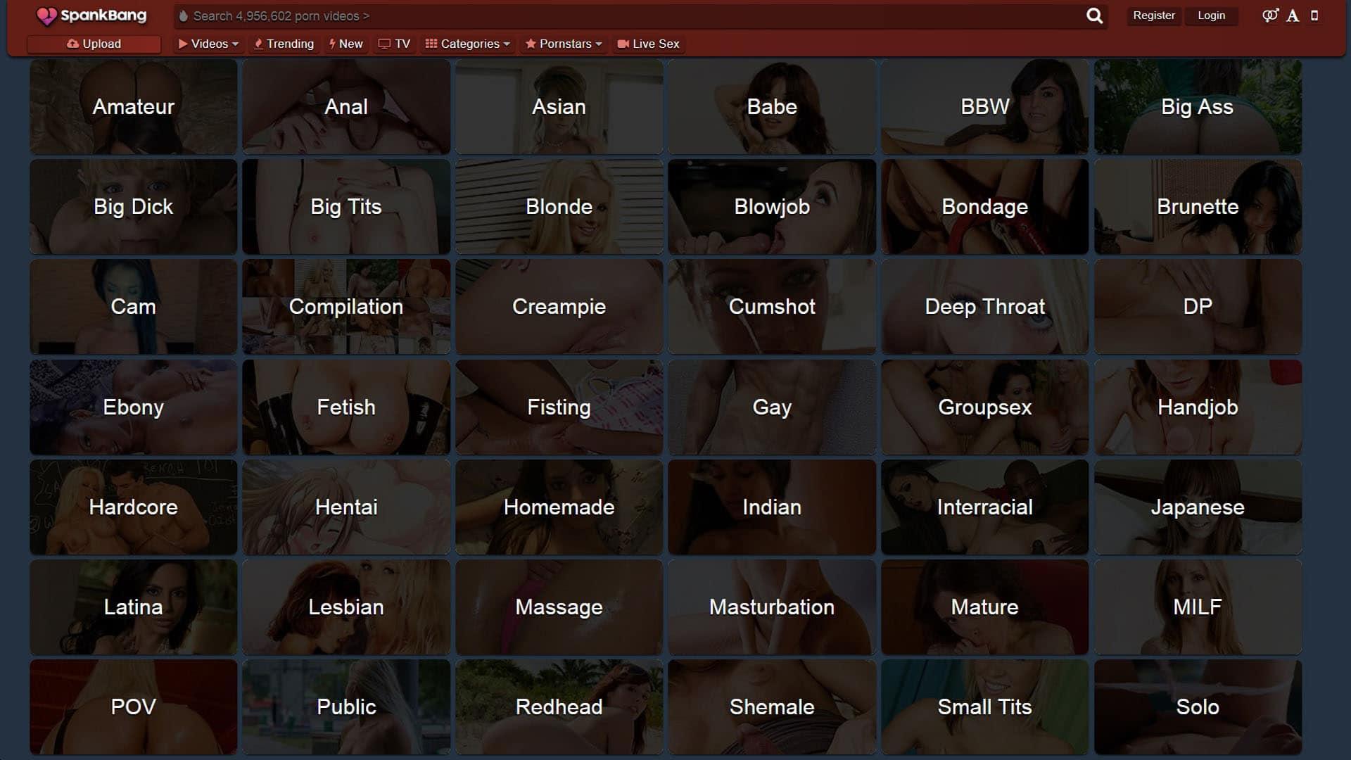 Spank Bang Categories