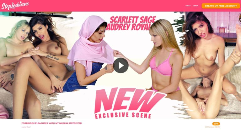 Step Lesbians New Exclusive Scene