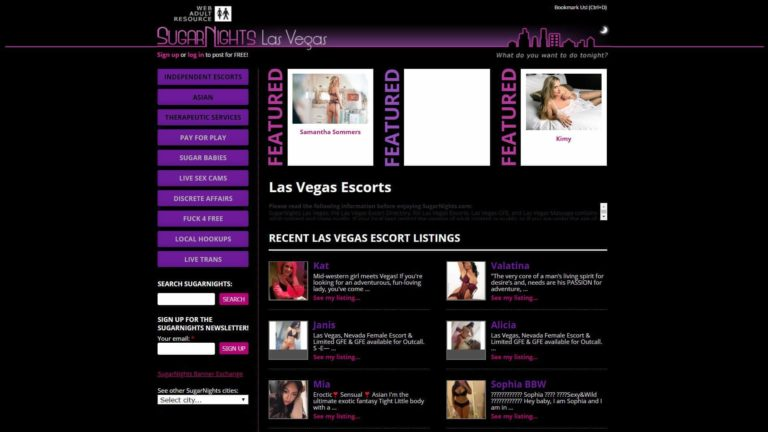 SugarNights Las Vegas Escorts