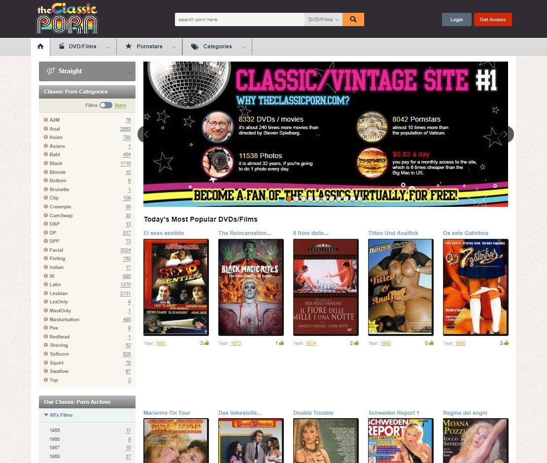 Vintage Sites  - The Classic Porn