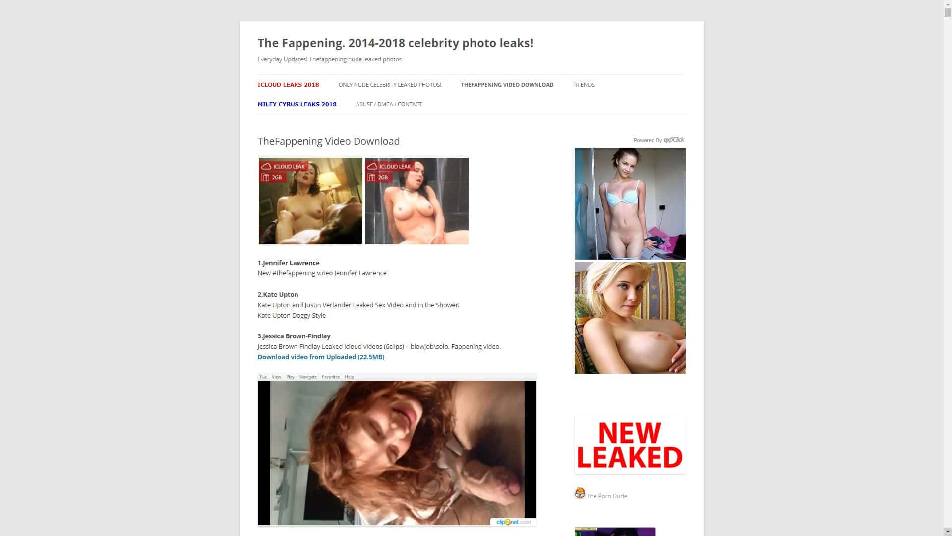 The Fappening New TheFappening Video Download