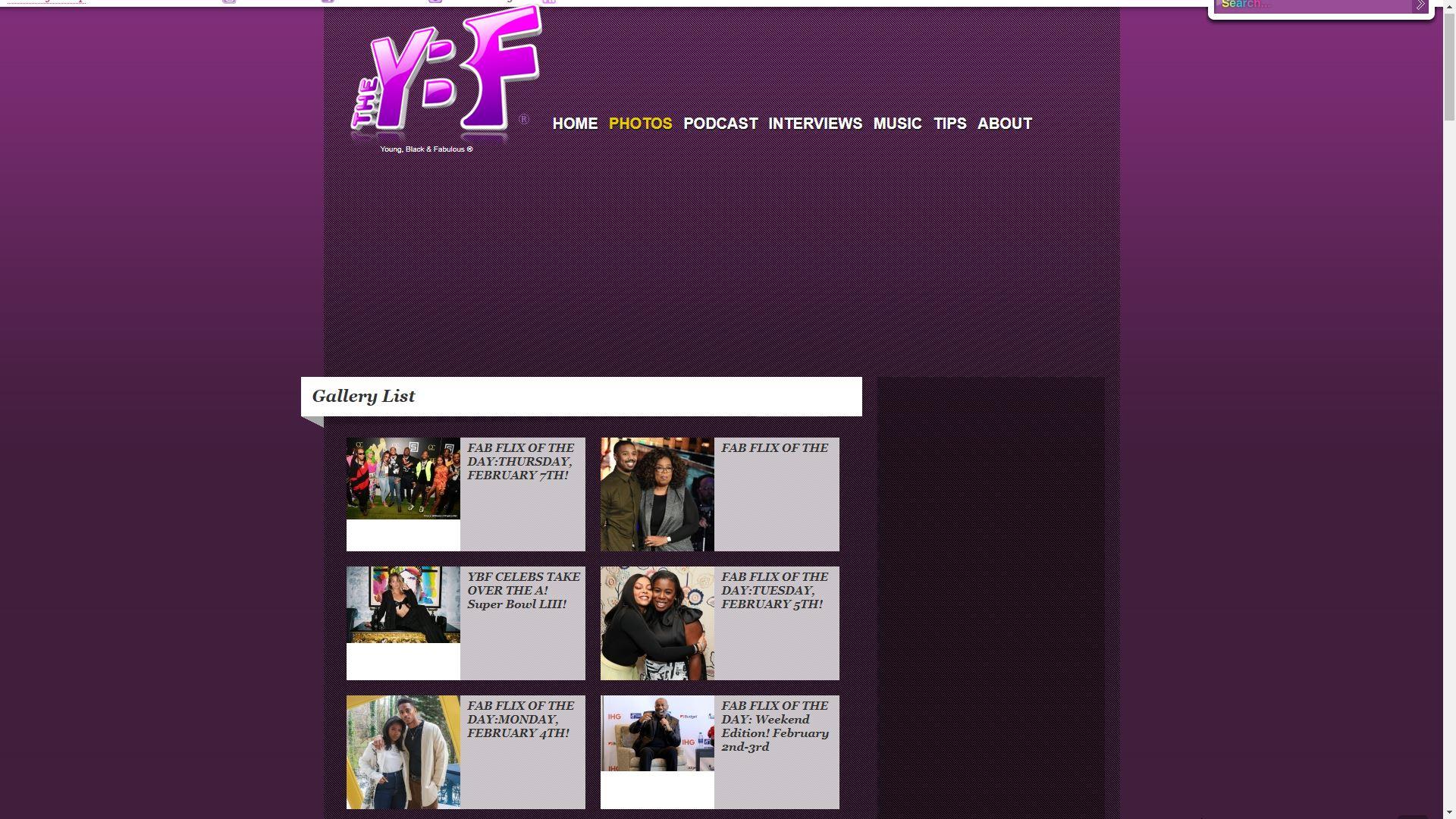 The YBF Photos