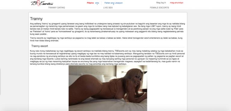 Tsescorts - Transgender Escort Profile Page 2