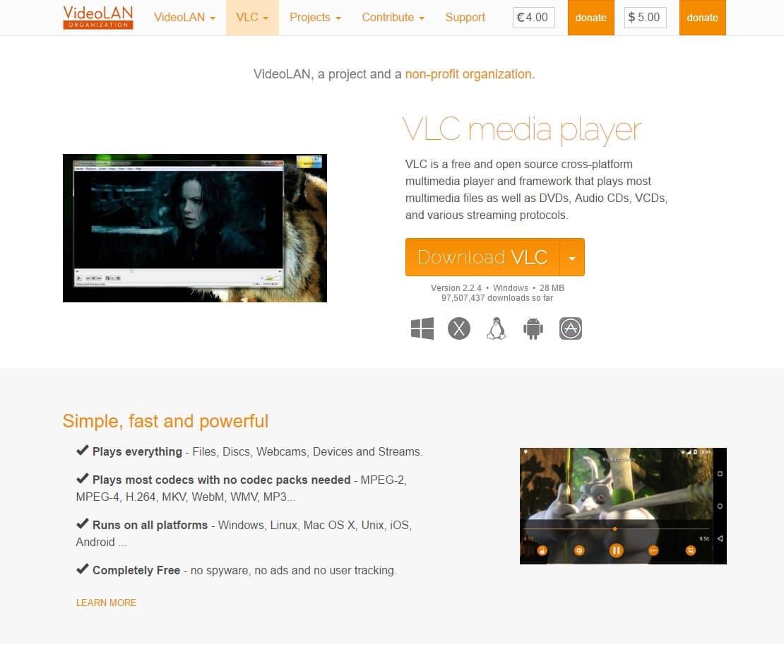 Useful Software  - VLC Media Player