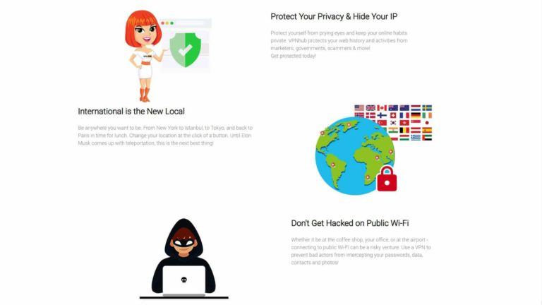 VPN Hub Protect Your Privacy and Hide Your IP