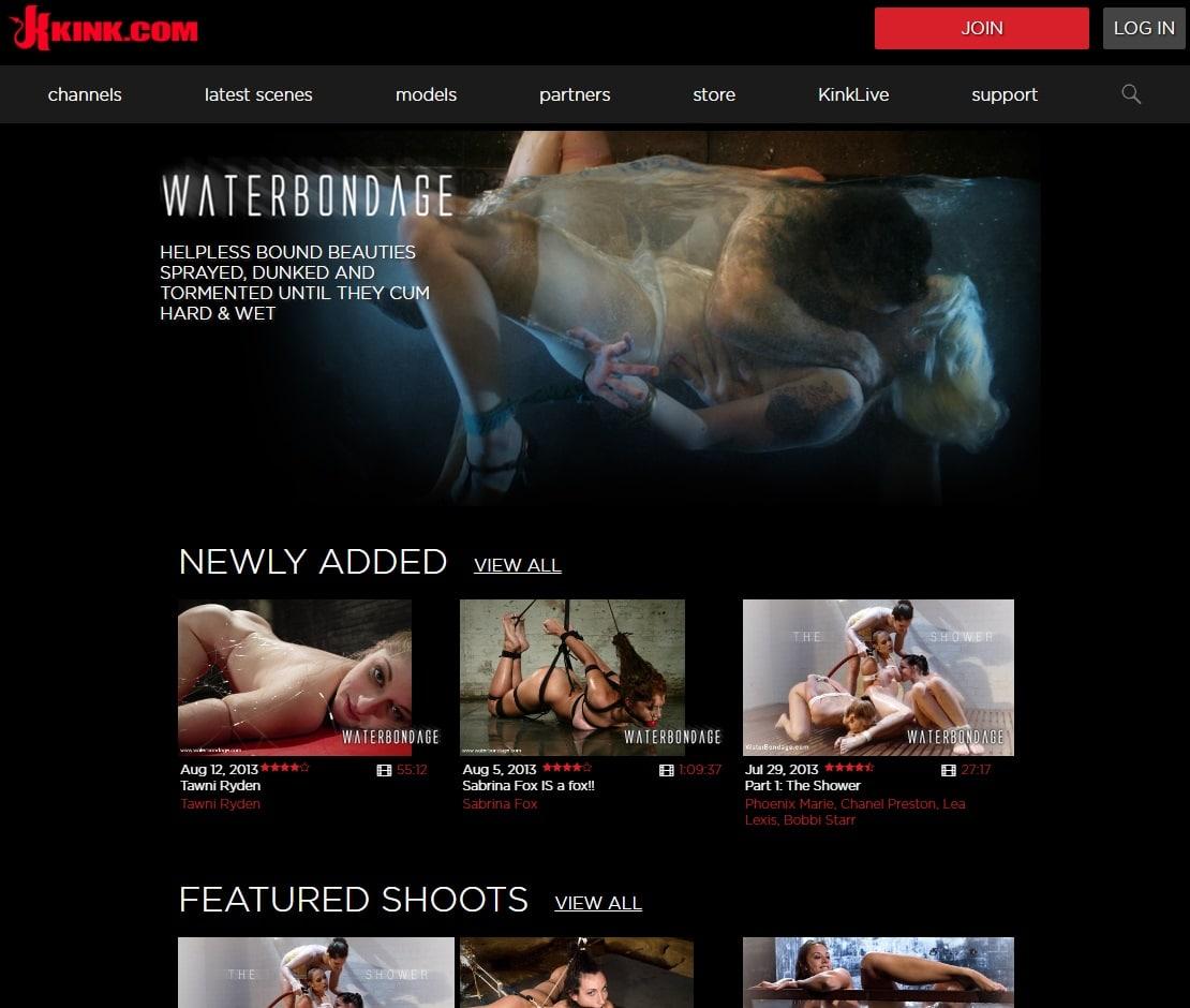 Premium BDSM Porn  - Water Bondage