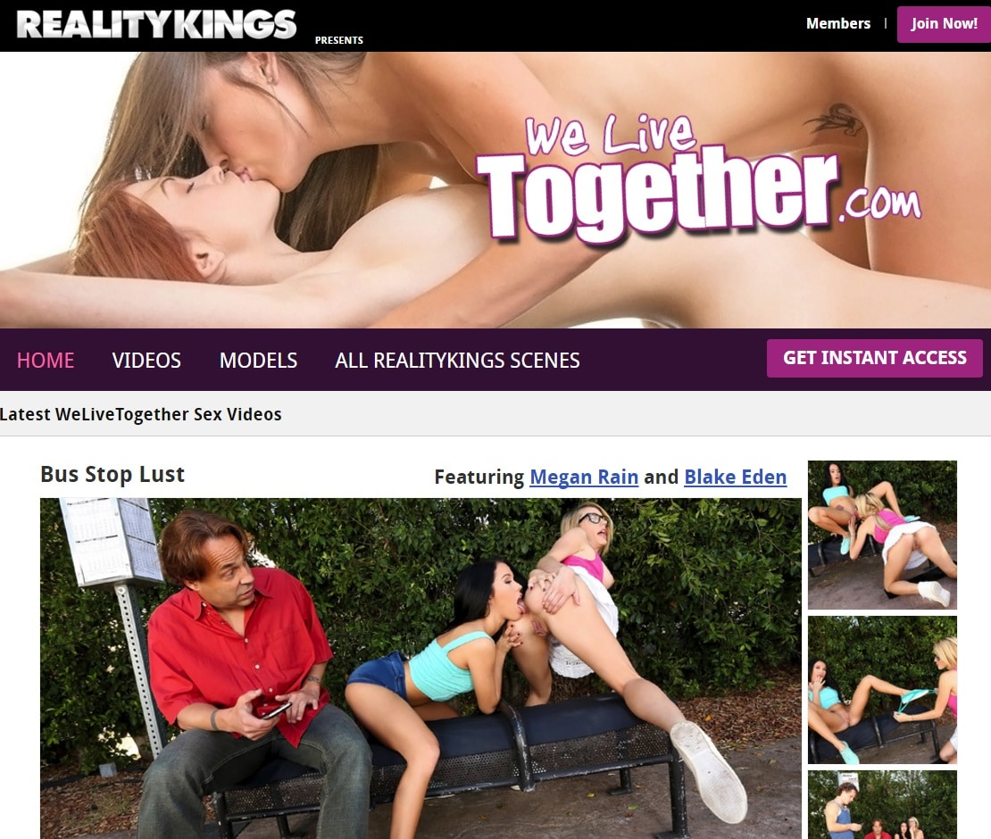 Lesbian Porn Sites - We Live Together