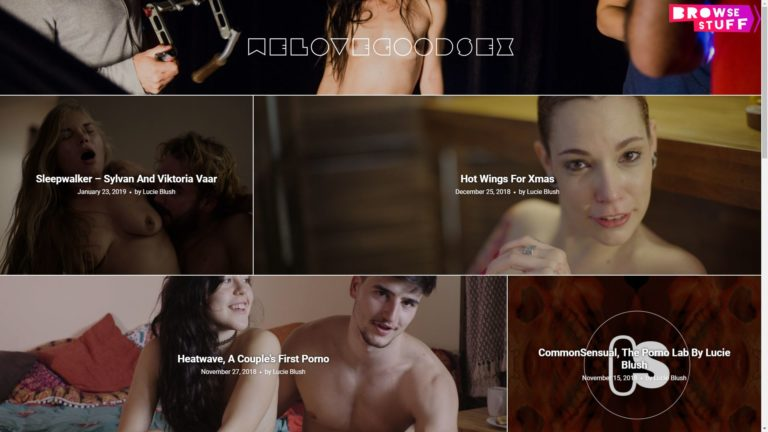 We Love Good Sex Main Page