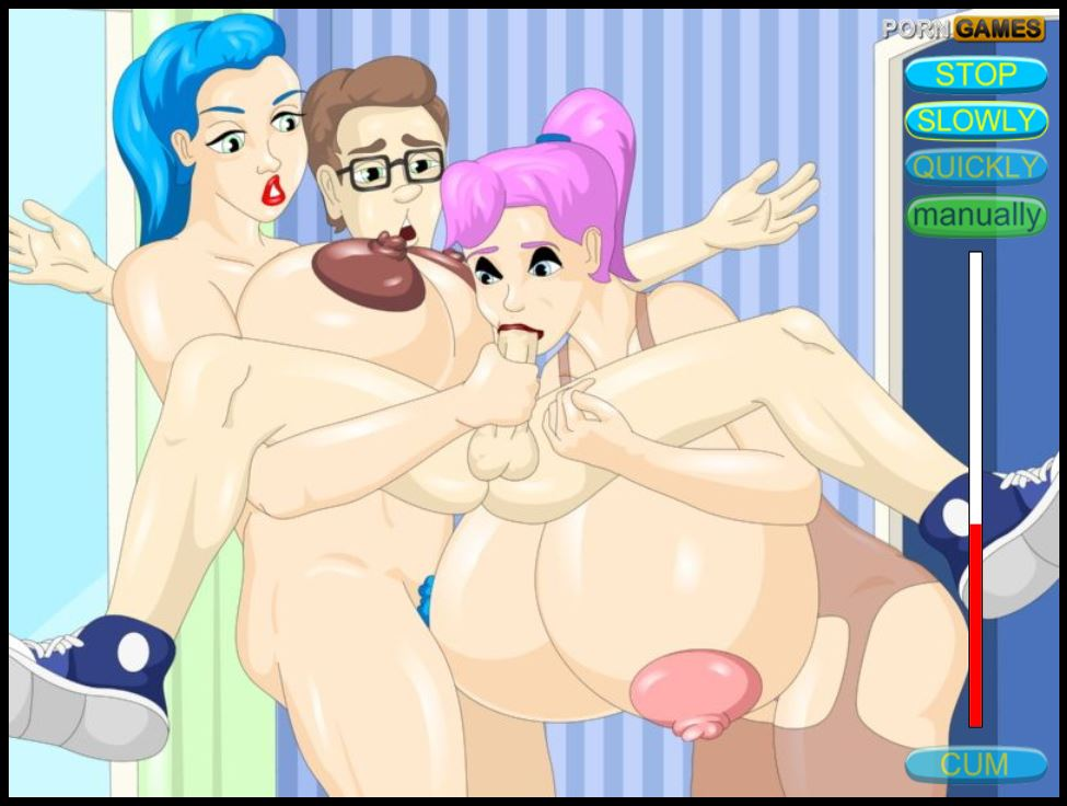 WetPussyGames - Sex Crazed Sisters Kidnap Pizza Man 3