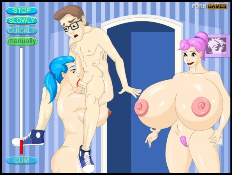 WetPussyGames - Sex Crazed Sisters Kidnap Pizza Man 4