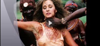 White Chick Joins African Tribe For BBC
