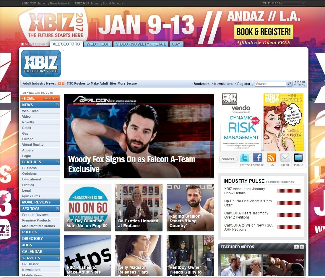 XBIZ Red Carpets