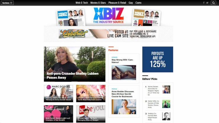 XBIZ Homepage