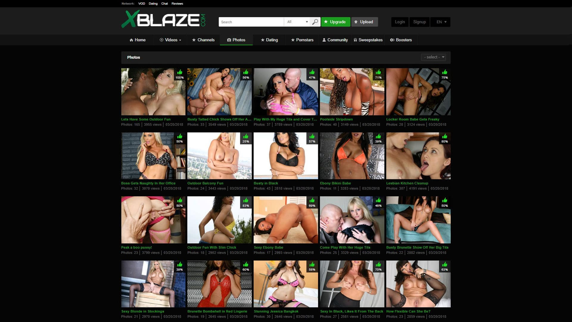X Blaze Photos