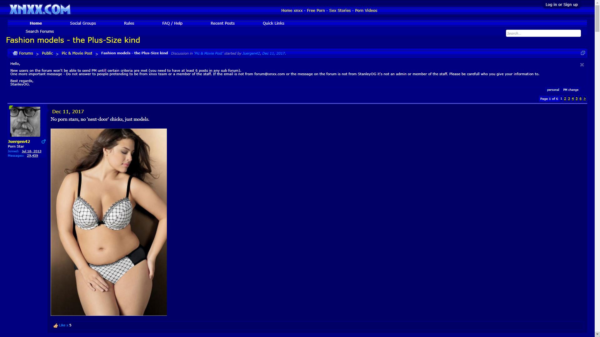 XNXX Forums Fashion Models The Plus Size Kind