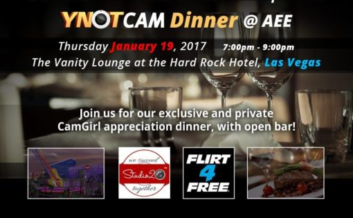 Ynot Presents A Night For The Cam Girls