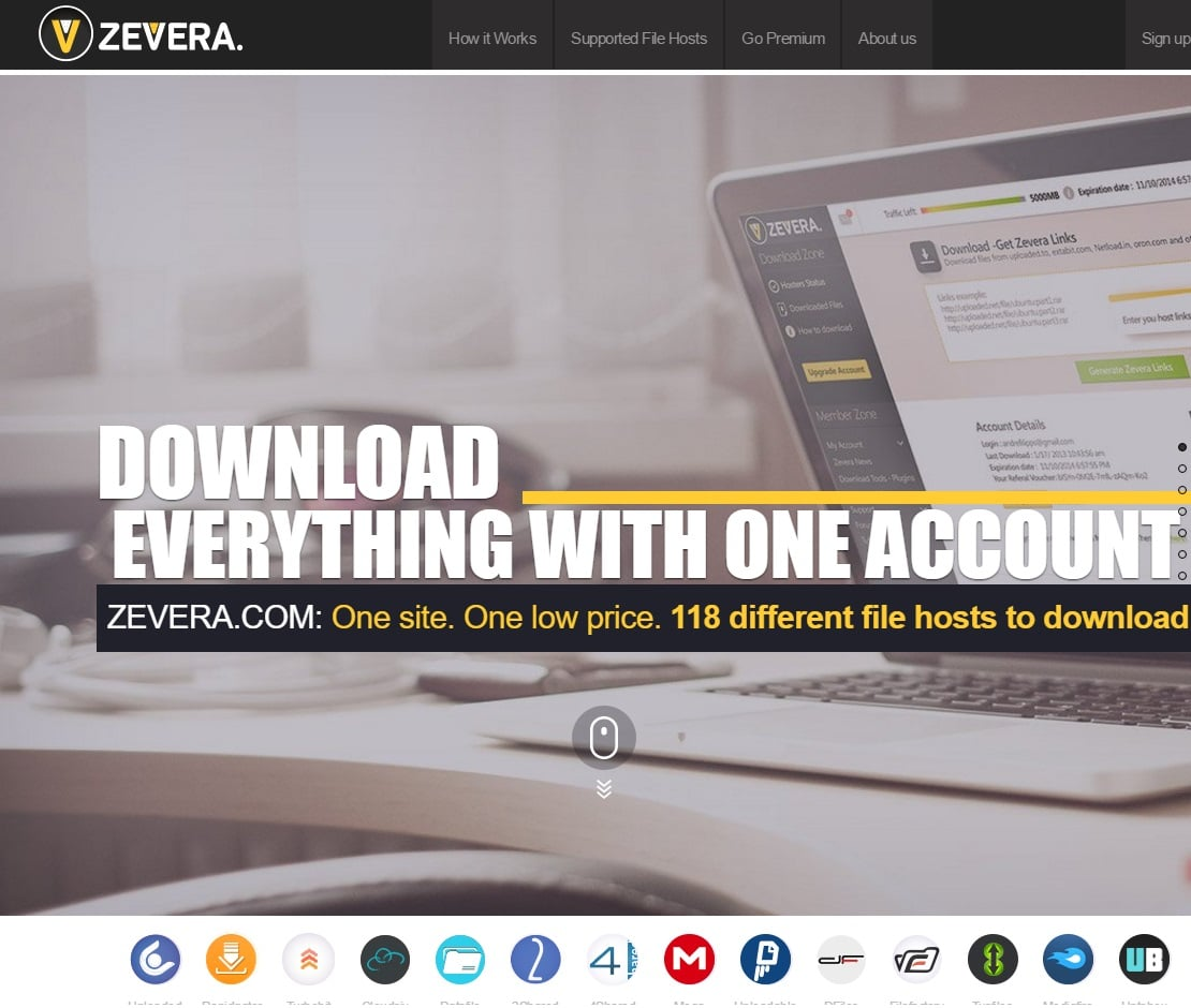 Unwanted Sites - Zevera