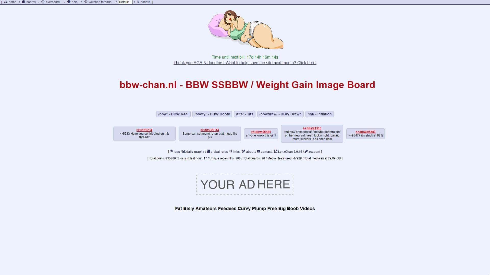BBW-Chan Home
