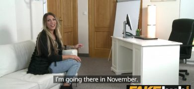 German Girl on Casting Couch