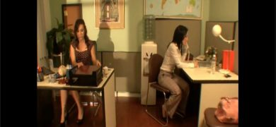 Hot Office Women Make Out