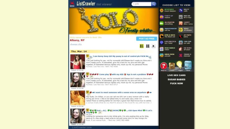 Listcrawler Yolo