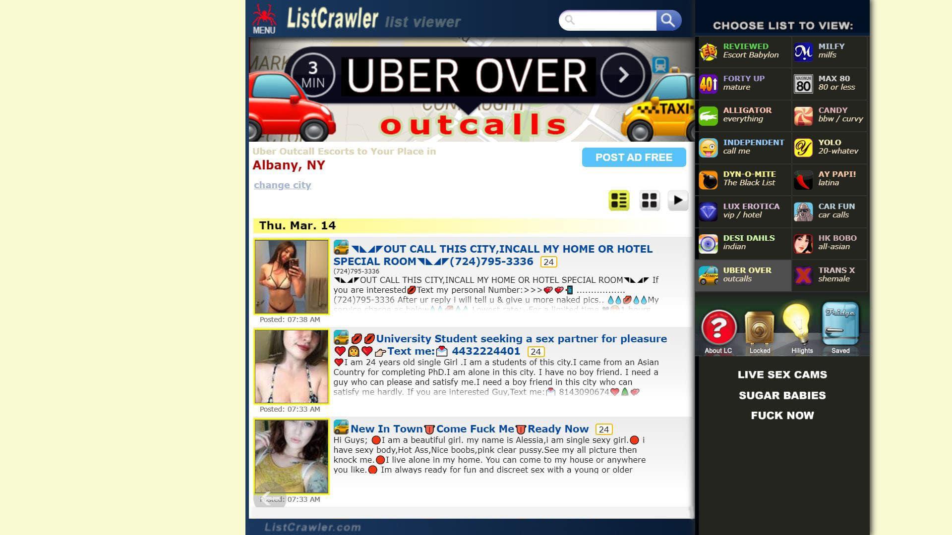 Listcrawler Uber Over
