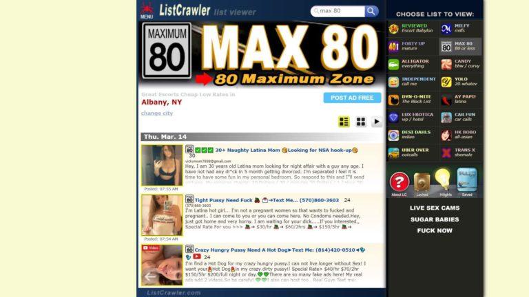 Listcrawler Max 80