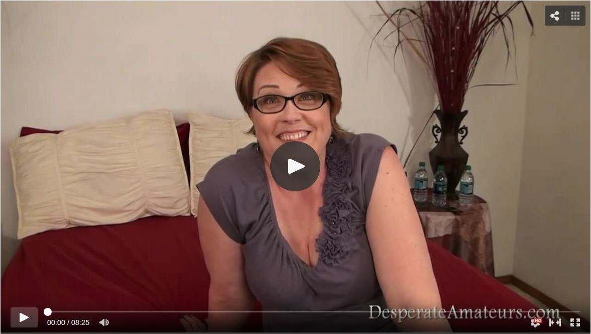 Mature Woman on Casting Couch