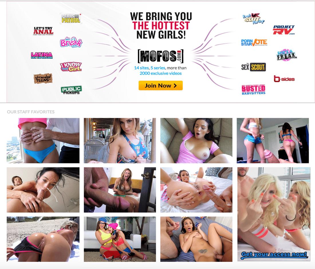 Premium Porn Sites - Mofos Network