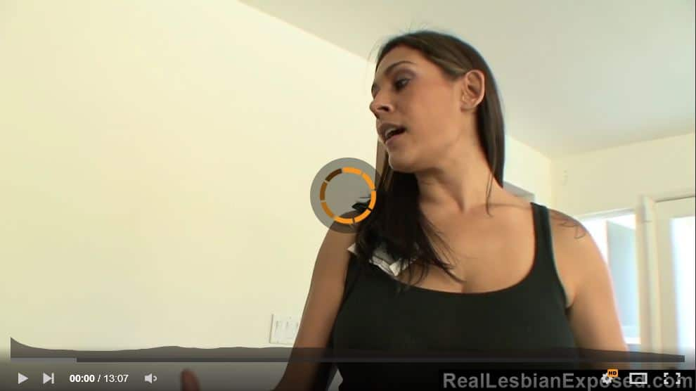 Scissoring Her Yoga Instructor