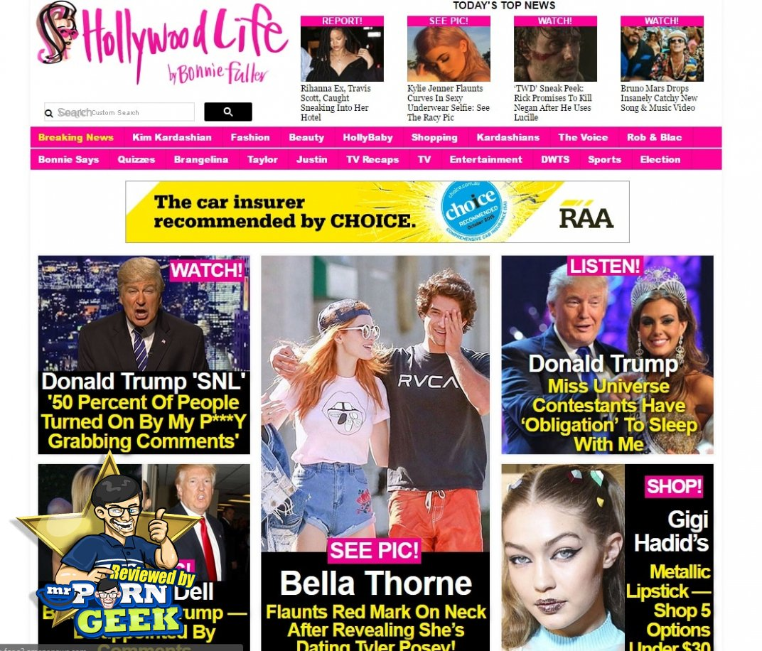 Celebrity Gossip Sites - Hollywood Life