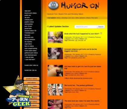Humoron (humoron.com) Bizarre Lustige Porno-Videos - Mr
