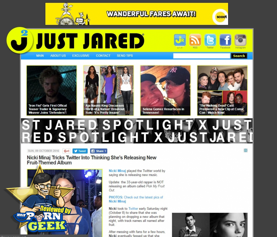 Celebrity Gossip Sites - Just Jared