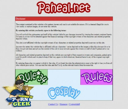 Rule 34 Phaheal