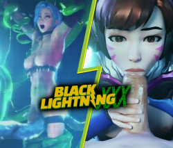 Black Lightning XXX