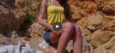 Tattooed Beauty Fucked Outdoors
