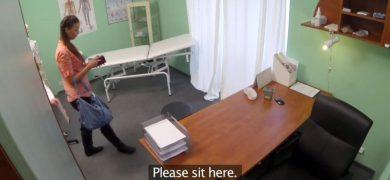 Woman at Fake Hospital
